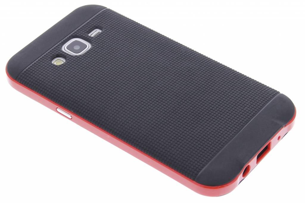 Rode TPU Protect case voor de Samsung Galaxy J5