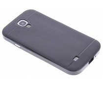 Zwart TPU Protect case Samsung Galaxy S4
