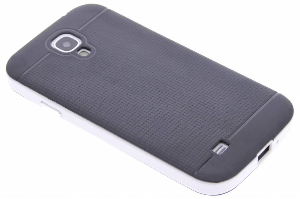 Witte TPU Protect case voor de Samsung Galaxy S4