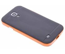 Oranje TPU Protect case Samsung Galaxy S4