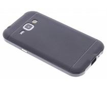 Zwart TPU Protect case Samsung Galaxy J1