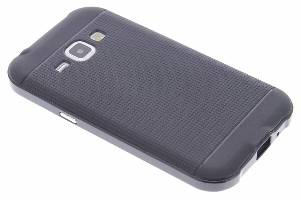 Zwarte TPU Protect case voor de Samsung Galaxy J1