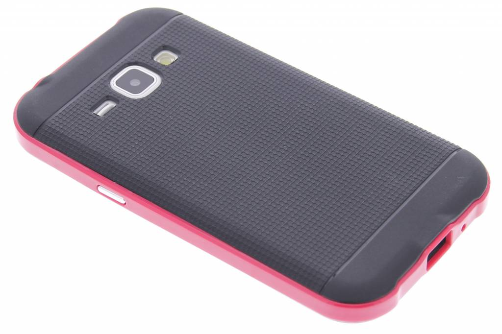 Fuchsia TPU Protect case voor de Samsung Galaxy J1