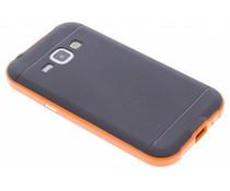 Oranje TPU Protect case Samsung Galaxy J1