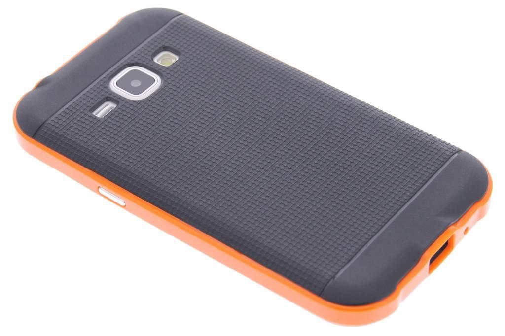 Oranje TPU Protect case voor de Samsung Galaxy J1