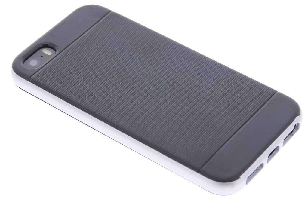 Zilveren TPU Protect case voor de iPhone 5 / 5s / SE
