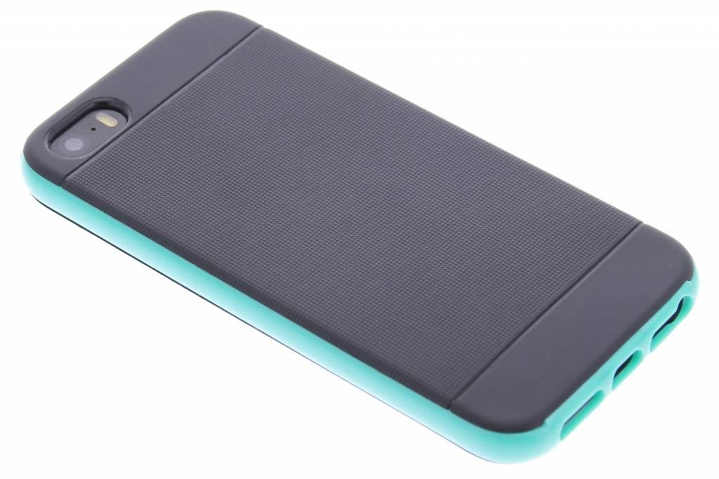 Mintgroene TPU Protect case voor de iPhone 5 / 5s / SE