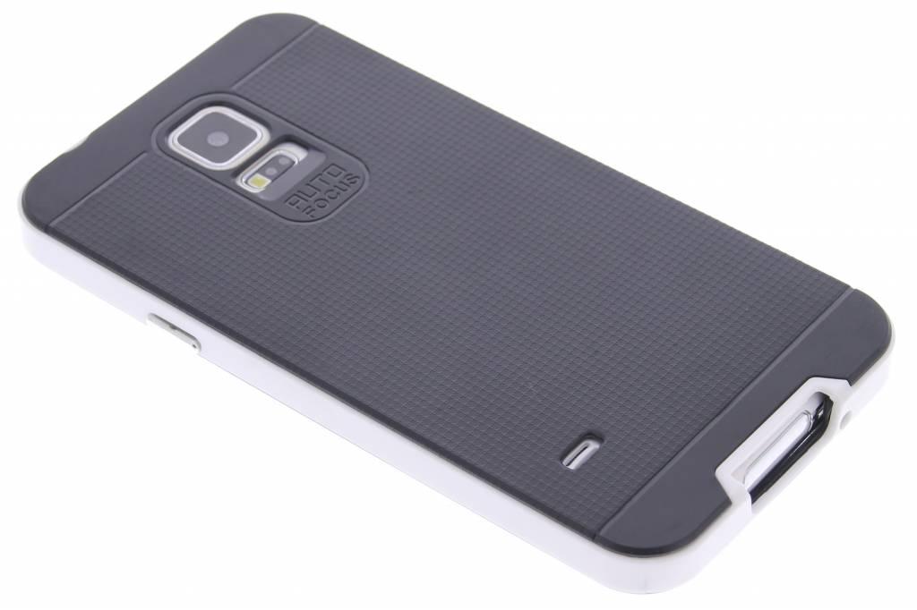 Witte TPU Protect case voor de Samsung Galaxy S5 (Plus) / Neo