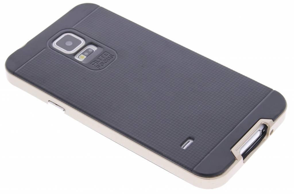 Gouden TPU Protect case voor de Samsung Galaxy S5 (Plus) / Neo