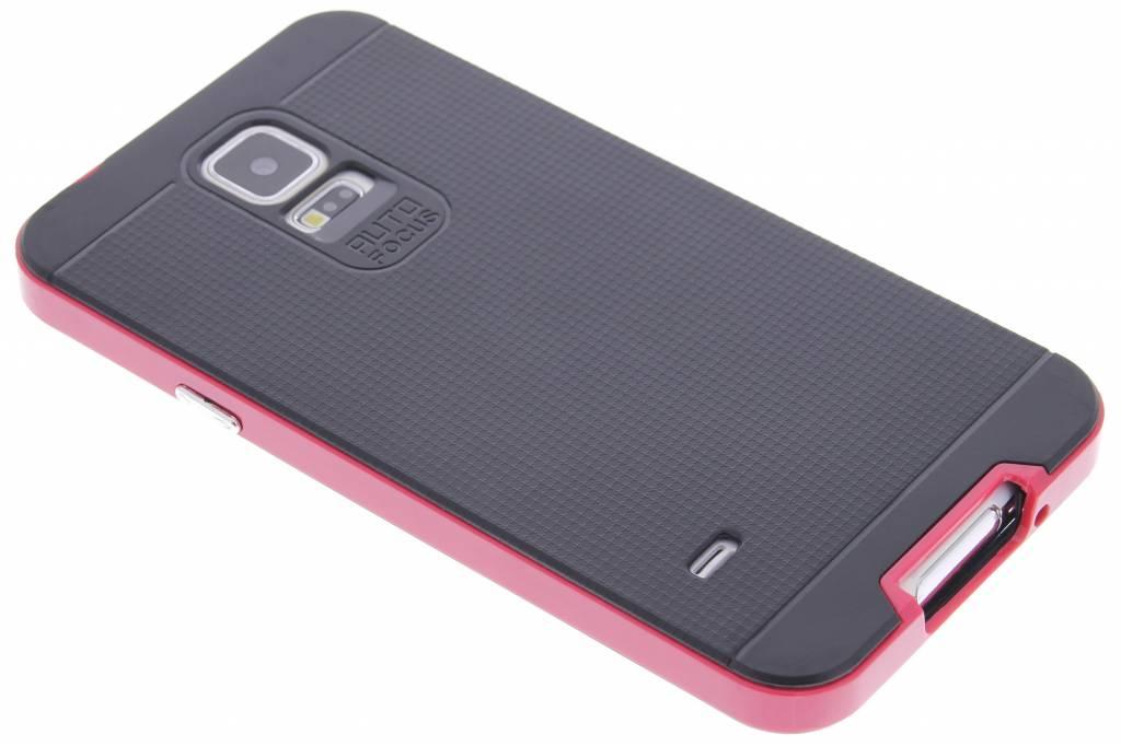 Fuchsia TPU Protect case voor de Samsung Galaxy S5 (Plus) / Neo