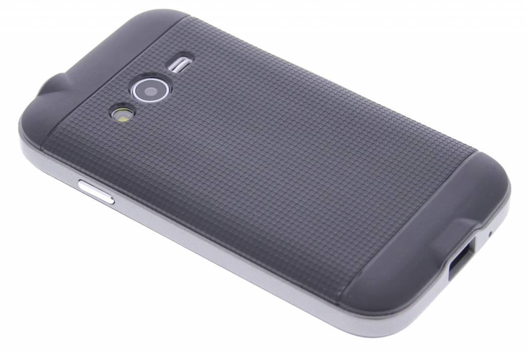 Grijze TPU Protect case voor de Samsung Galaxy Trend 2 (Lite)