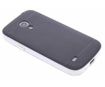 Wit TPU Protect case Samsung Galaxy S4 Mini