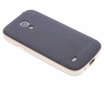 Goud TPU Protect case Samsung Galaxy S4 Mini