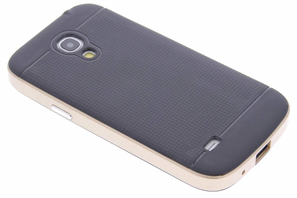 Gouden TPU Protect case voor de Samsung Galaxy S4 Mini