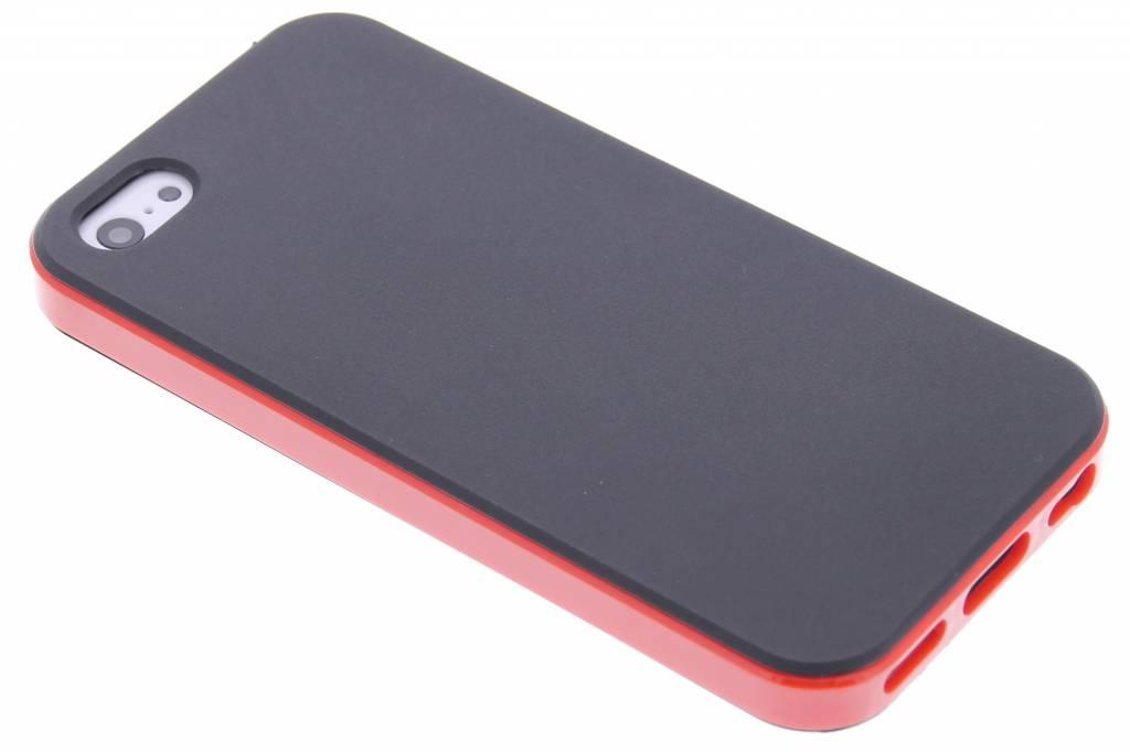 Rode TPU Protect case voor de iPhone 5c