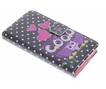 Design TPU booktype hoes Nokia Lumia 630 / 635
