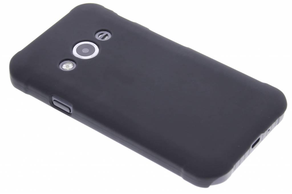 Zwart effen hardcase hoesje voor de Samsung Galaxy Xcover 3
