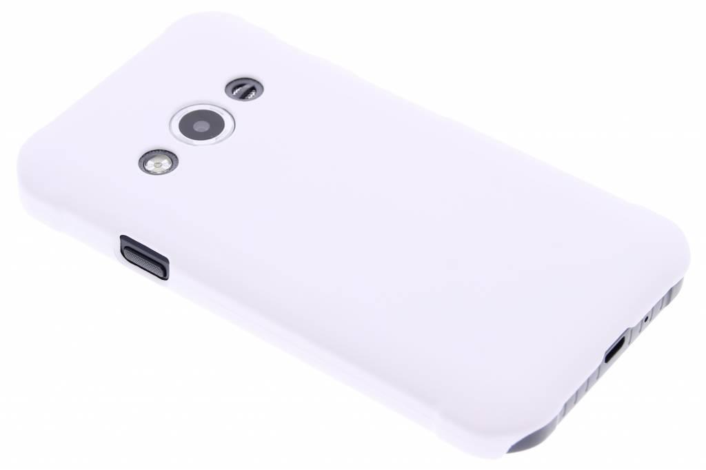 Wit effen hardcase hoesje voor de Samsung Galaxy Xcover 3