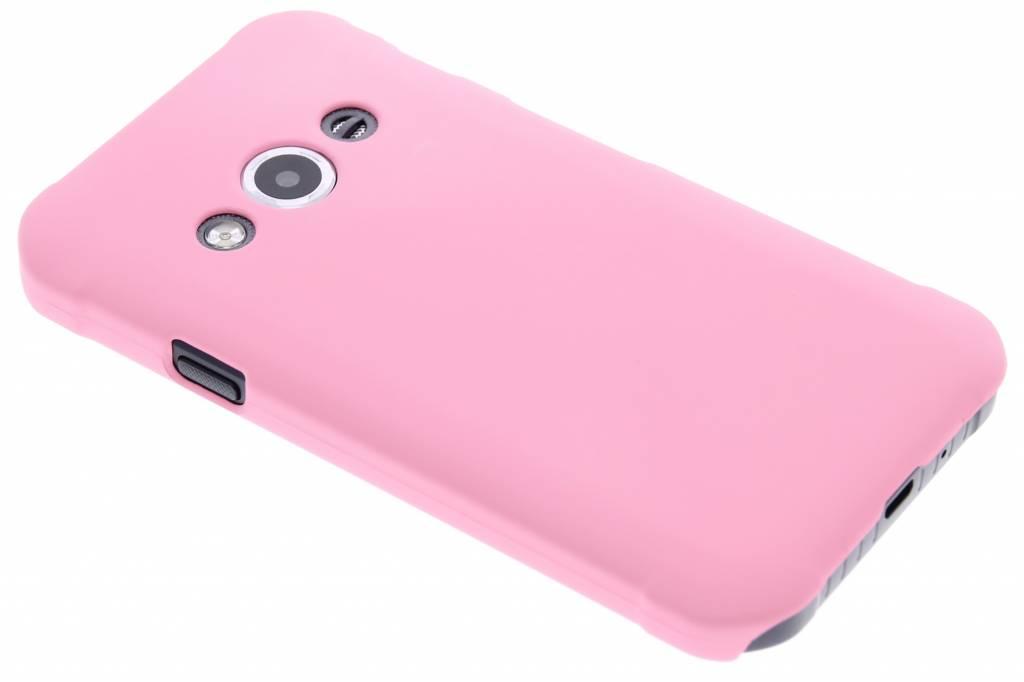 Roze effen hardcase hoesje voor de Samsung Galaxy Xcover 3