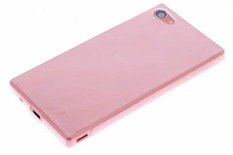 Coque Tpu Ultra Mince Transparent Pour Les Z5 Xperia Compacts Sony G6C4M