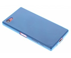 Blauw ultra thin transparant TPU hoesje Xperia Z5 Compact