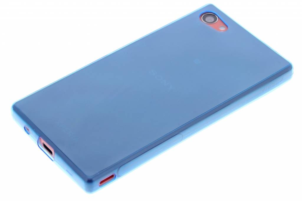 Coque Tpu Rose Avec Bord Métallique Pour Sony Xperia Z5 Compact fRT79dhD
