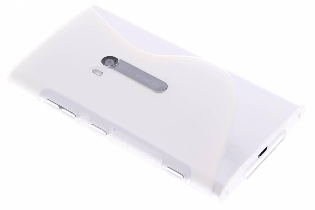 Transparant S-line TPU hoesje voor de Nokia Lumia 920