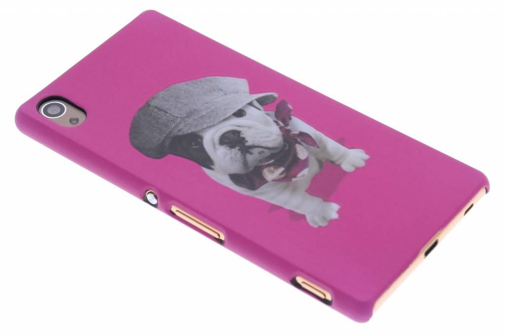 Pug design hardcase hoesje voor de Sony Xperia Z3 Plus