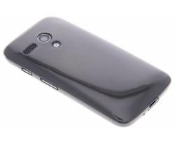 Grijs ultra thin transparant TPU hoesje Motorola Moto G