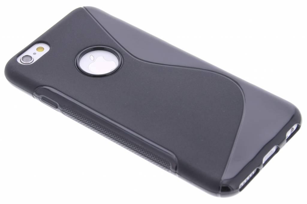 Zwart S-line TPU hoesje voor de iPhone 6 / 6s