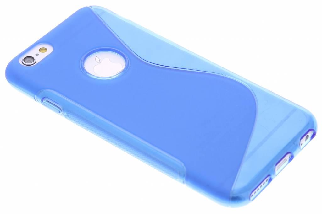 Blauw S-line TPU hoesje voor de iPhone 6 / 6s