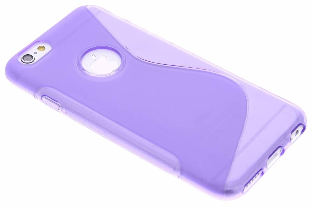 Paars S-line TPU hoesje voor de iPhone 6 / 6s