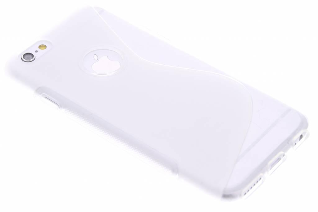Transparant S-line TPU hoesje voor de iPhone 6 / 6s