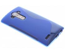 Blauw S-line TPU hoesje LG G4
