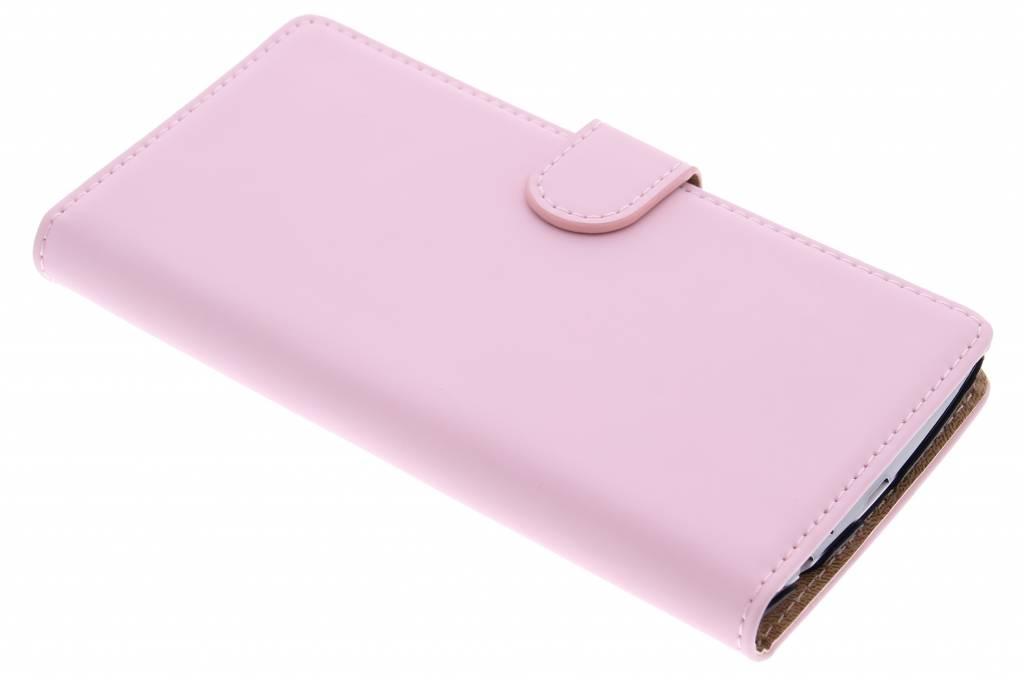 Selencia Luxe Book Case voor de LG G4 - Poederroze