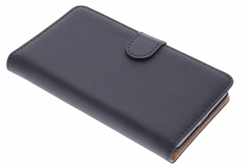 Selencia Luxe Book Case voor de Microsoft Lumia 640 - Zwart
