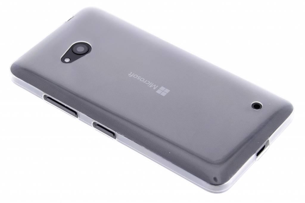 Ultra thin transparant TPU hoesje voor de Microsoft Lumia 640