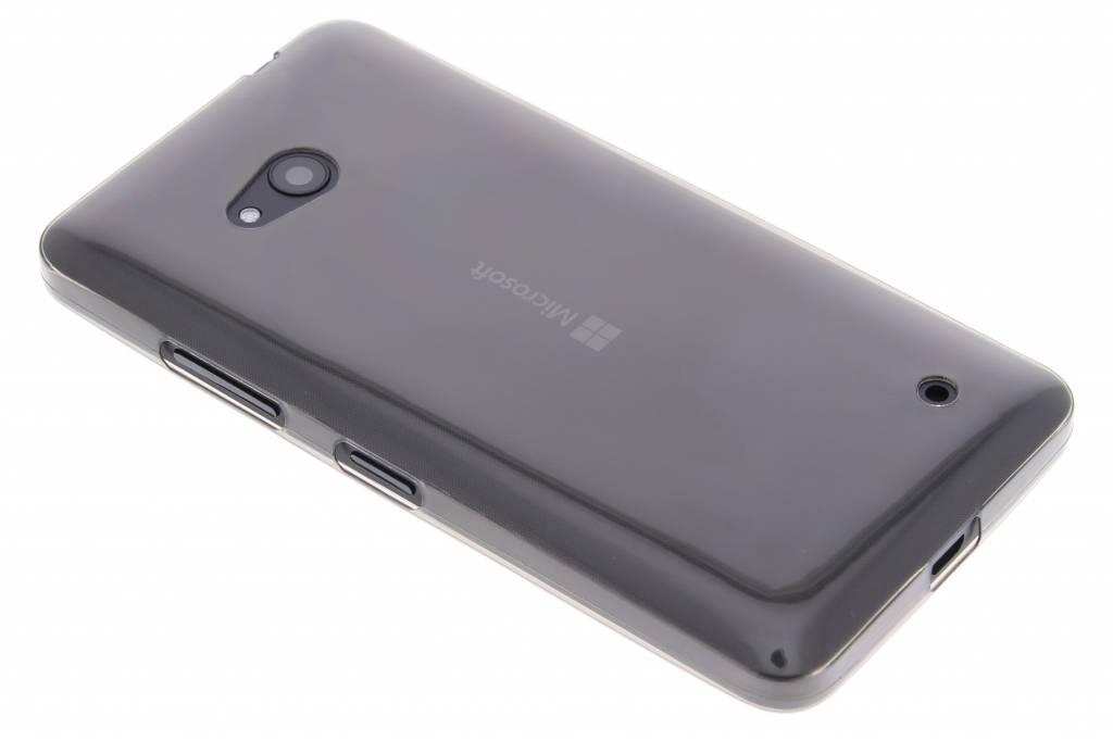Grijs ultra thin transparant TPU hoesje voor de Microsoft Lumia 640