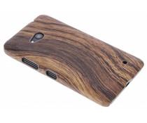 Hout design hardcase hoesje Microsoft Lumia 640