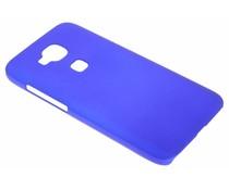 Blauw effen hardcase hoesje Huawei G8