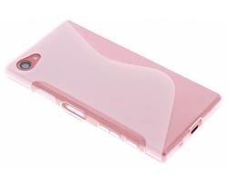 Transparant S-line TPU hoesje Sony Xperia Z5 Compact