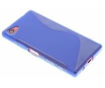 Blauw S-line TPU hoesje Sony Xperia Z5 Compact