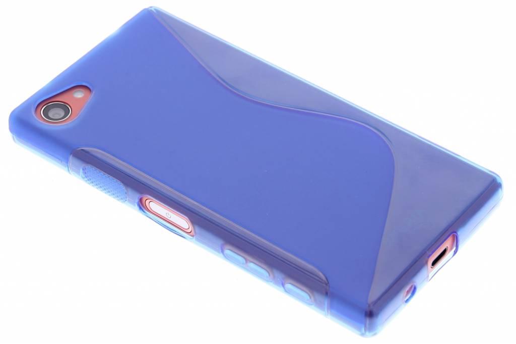 Blauw S-line TPU hoesje voor de Sony Xperia Z5 Compact