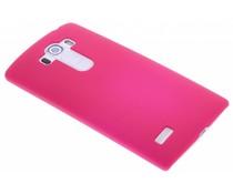 Fuchsia effen hardcase hoesje LG G4 S