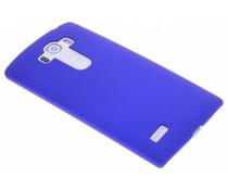 Blauw effen hardcase hoesje LG G4 S