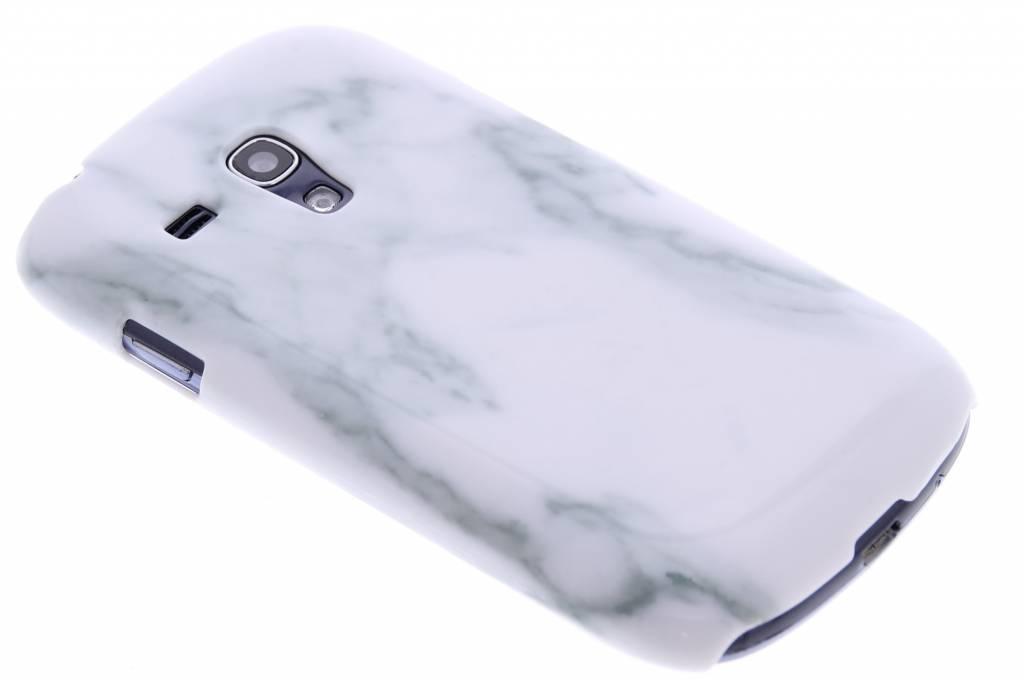 Wit marmer hardcase hoesje voor de Samsung Galaxy S3 Mini