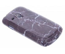 Marmer hardcase hoesje Samsung Galaxy S3 Mini