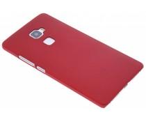 Rood effen hardcase hoesje Huawei Mate S