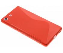 Rood S-line TPU hoesje Sony Xperia M5
