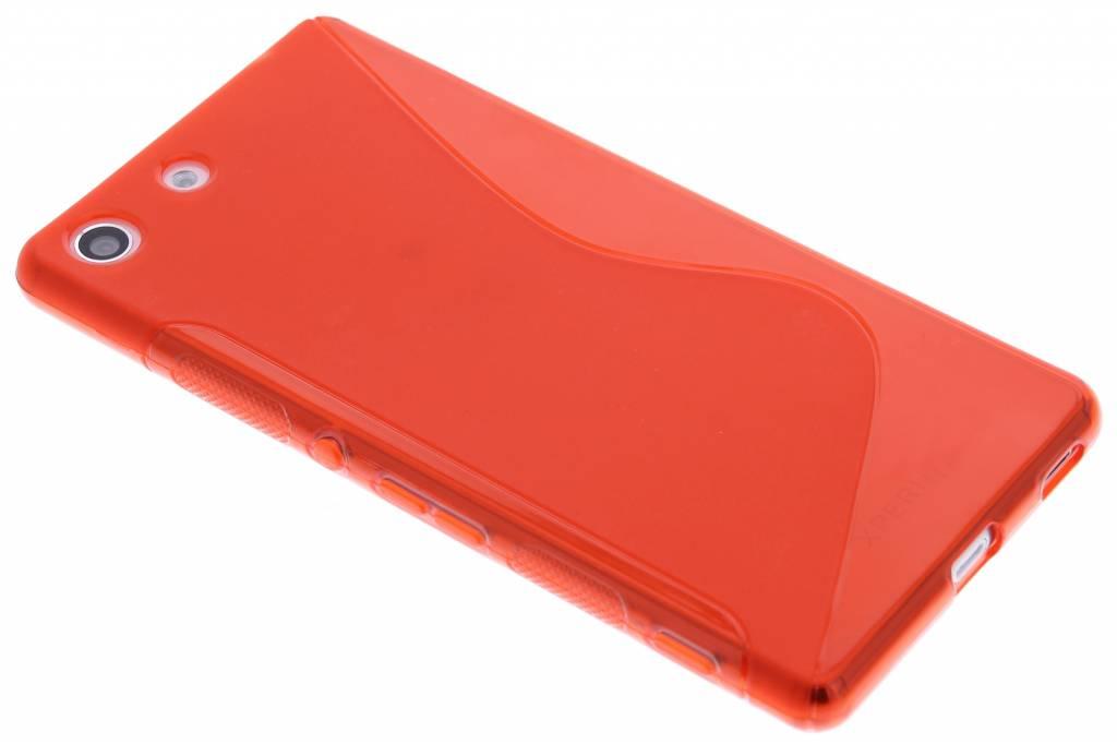 Rood S-line TPU hoesje voor de Sony Xperia M5